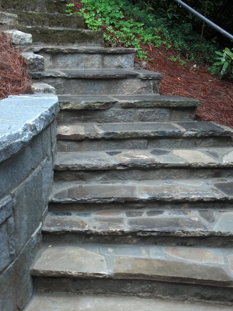 Image gallery masonry steps for Pictures of stone steps
