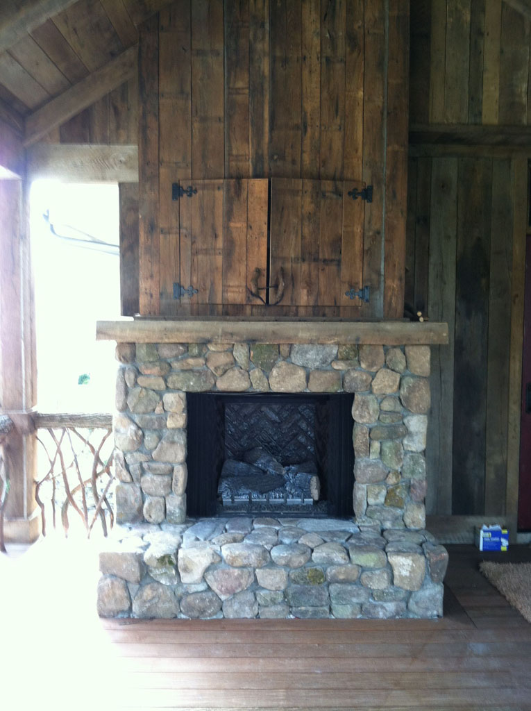 Stone Fireplace sample 04