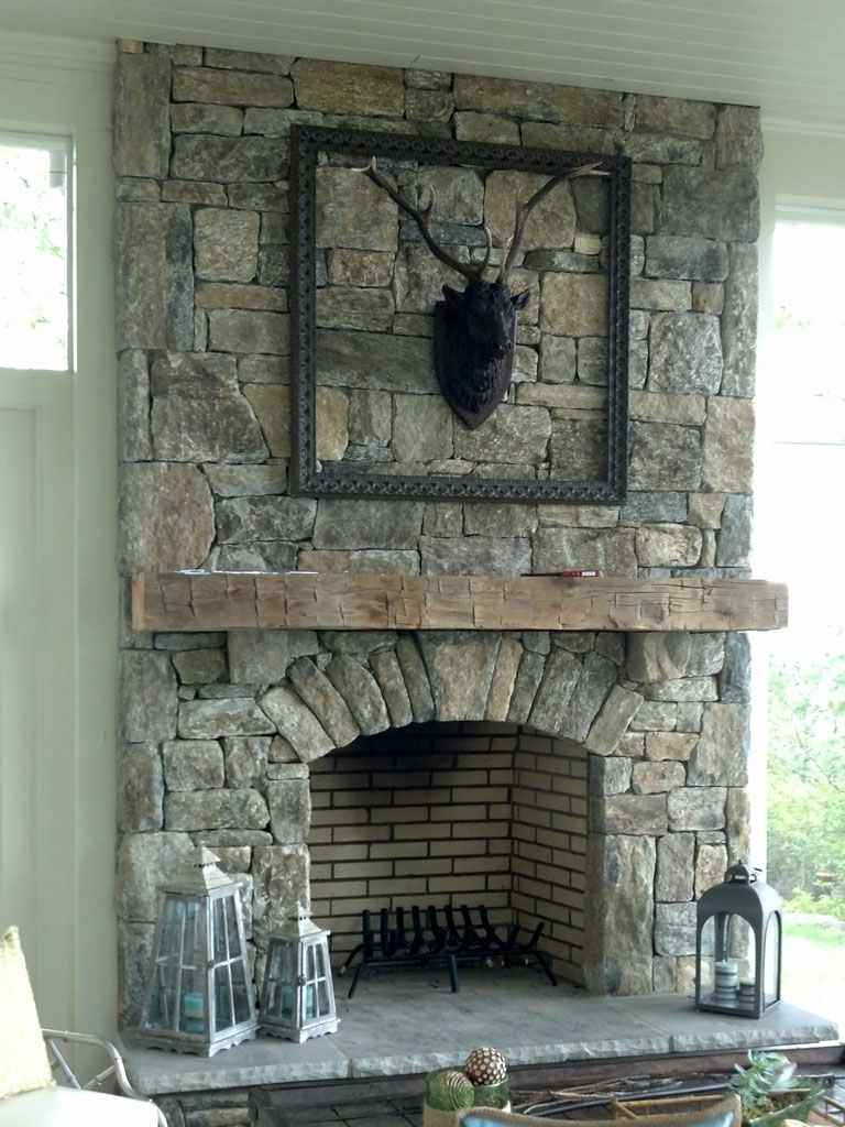 Other Images Like This! this is the related images of Stone Fireplaces
