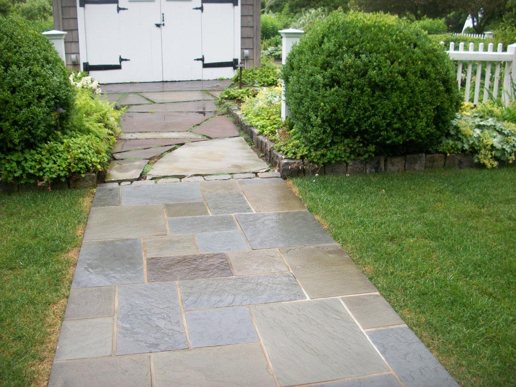 Pensilvania Bluestone walkway