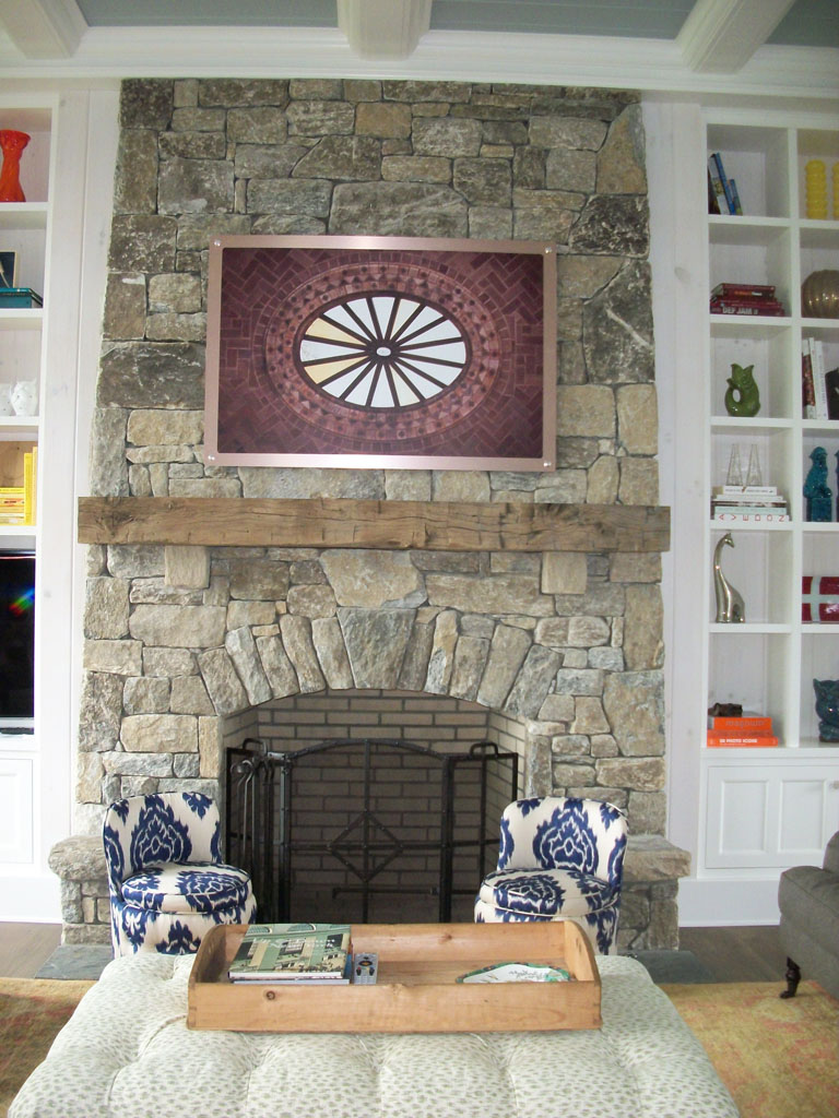 Stone Fireplace sample 05