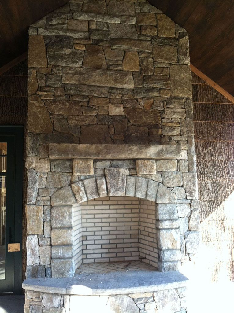 Stone Fireplace sample 06