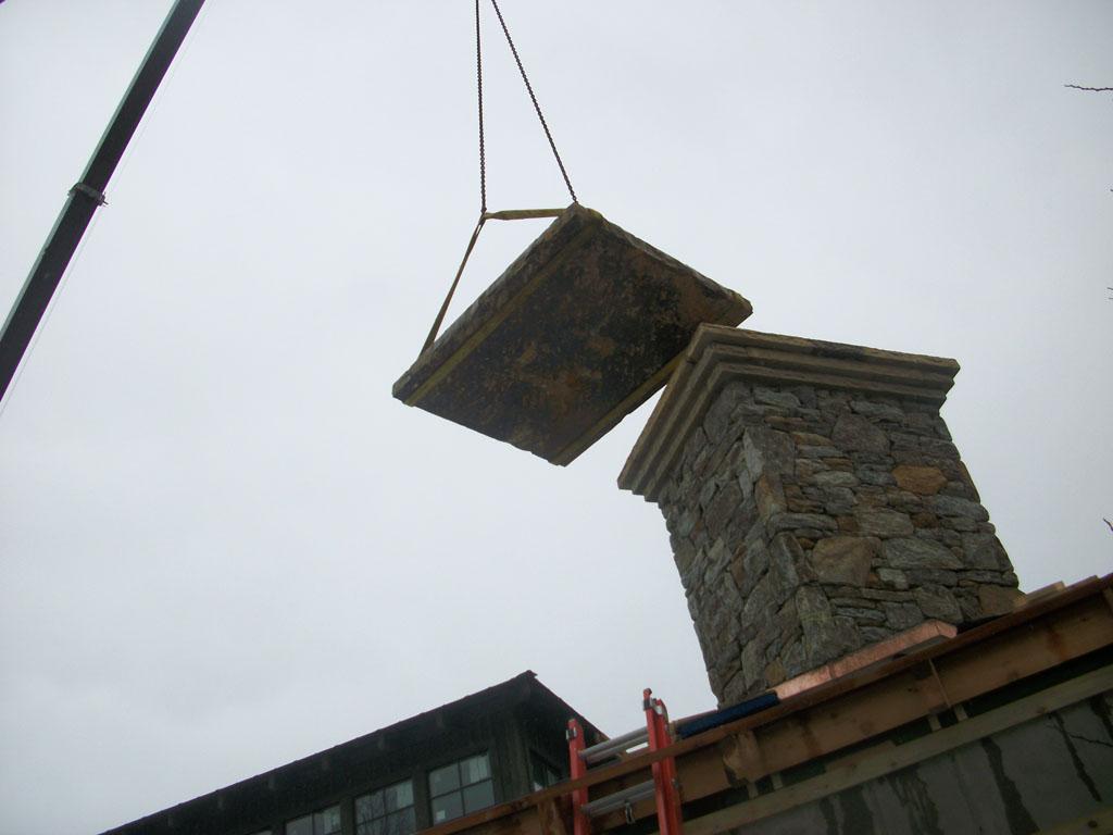 Installing Chimney