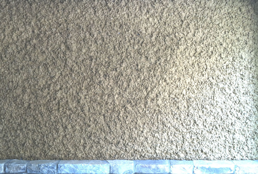 Stucco Finish sample 12