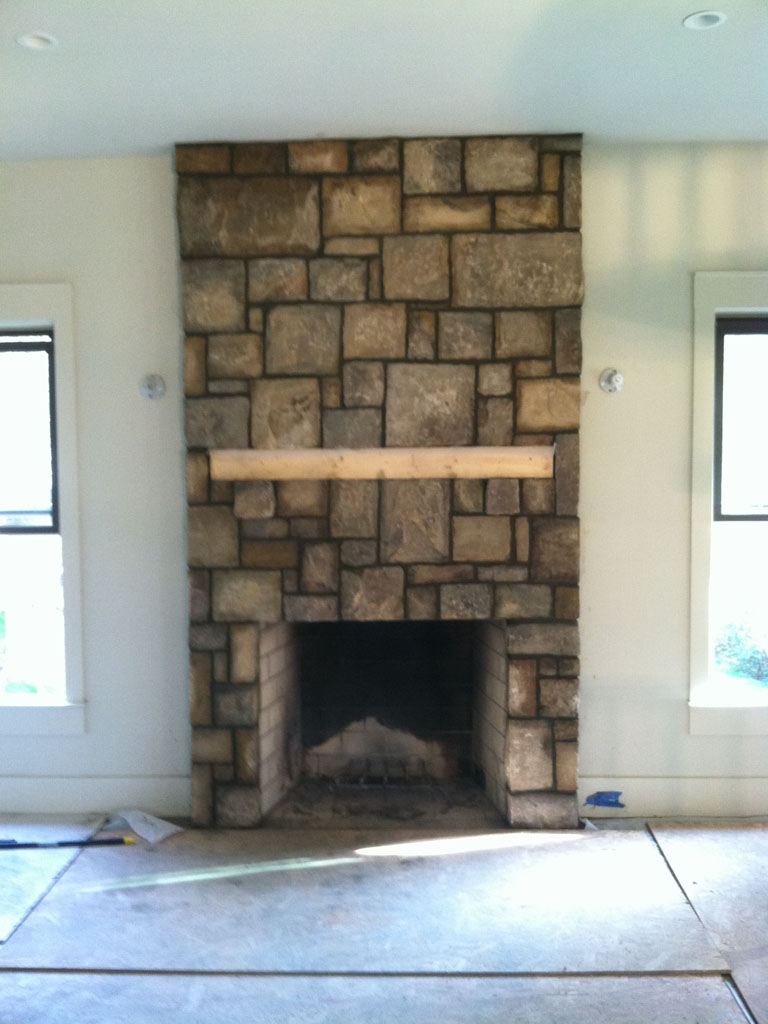 Stone Fireplace Sample 11