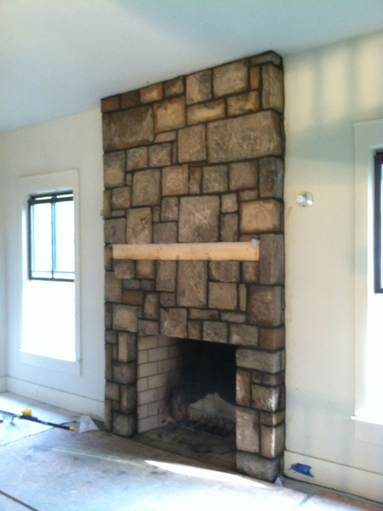 Stone Fireplace Sample 12