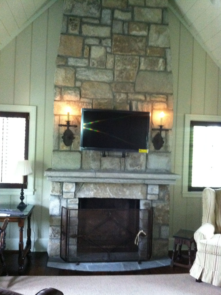 Stone Fireplace Sample 14