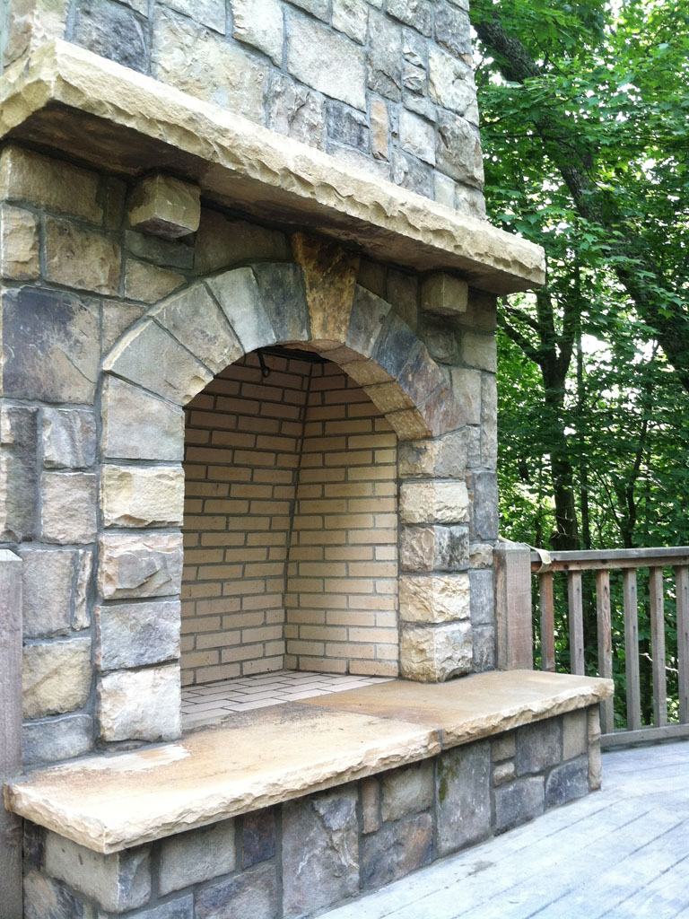Stone Fireplace Sample 15