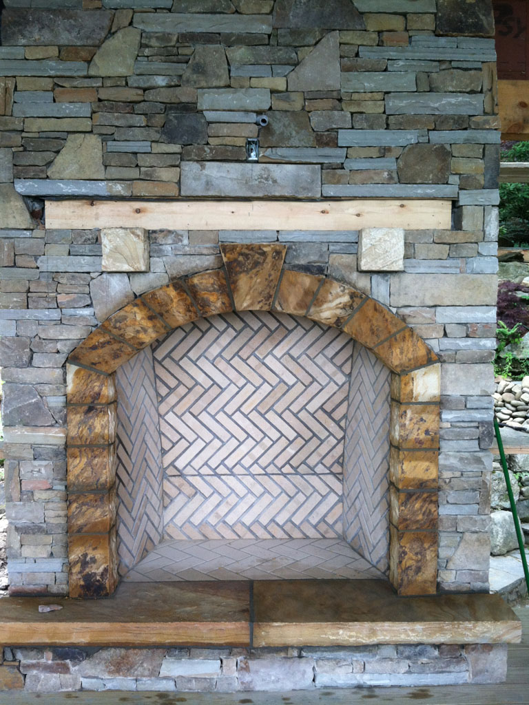 Stone Fireplace Sample 16